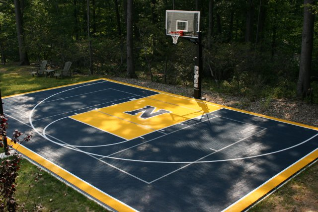 Platform tennis court cost for Basketball court construction cost